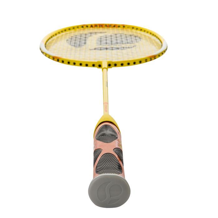 Badmintonschläger BR730 besaitet Kinder gelb