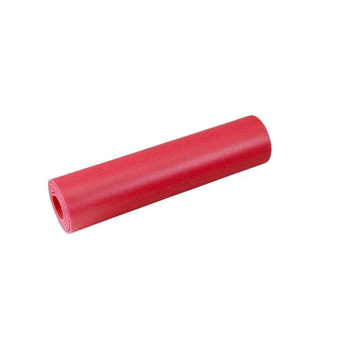 Matje voor pilates/stretching 100 maat S 6,5 mm rood