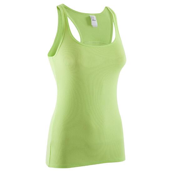 Topje voor gym & pilates dames gemêleerd - 378835
