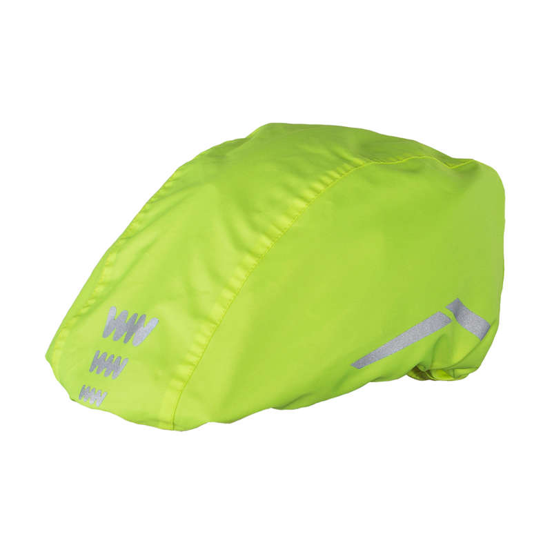 CYCLIST VISIBILITY ACCESS Clothing  Accessories - Hi-Viz Waterproof Helmet Cover WOWOW - Clothing  Accessories