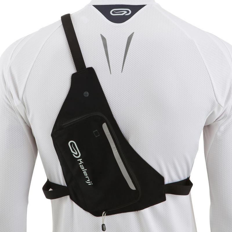 RUNNING 2-POSITION BAG BLACK