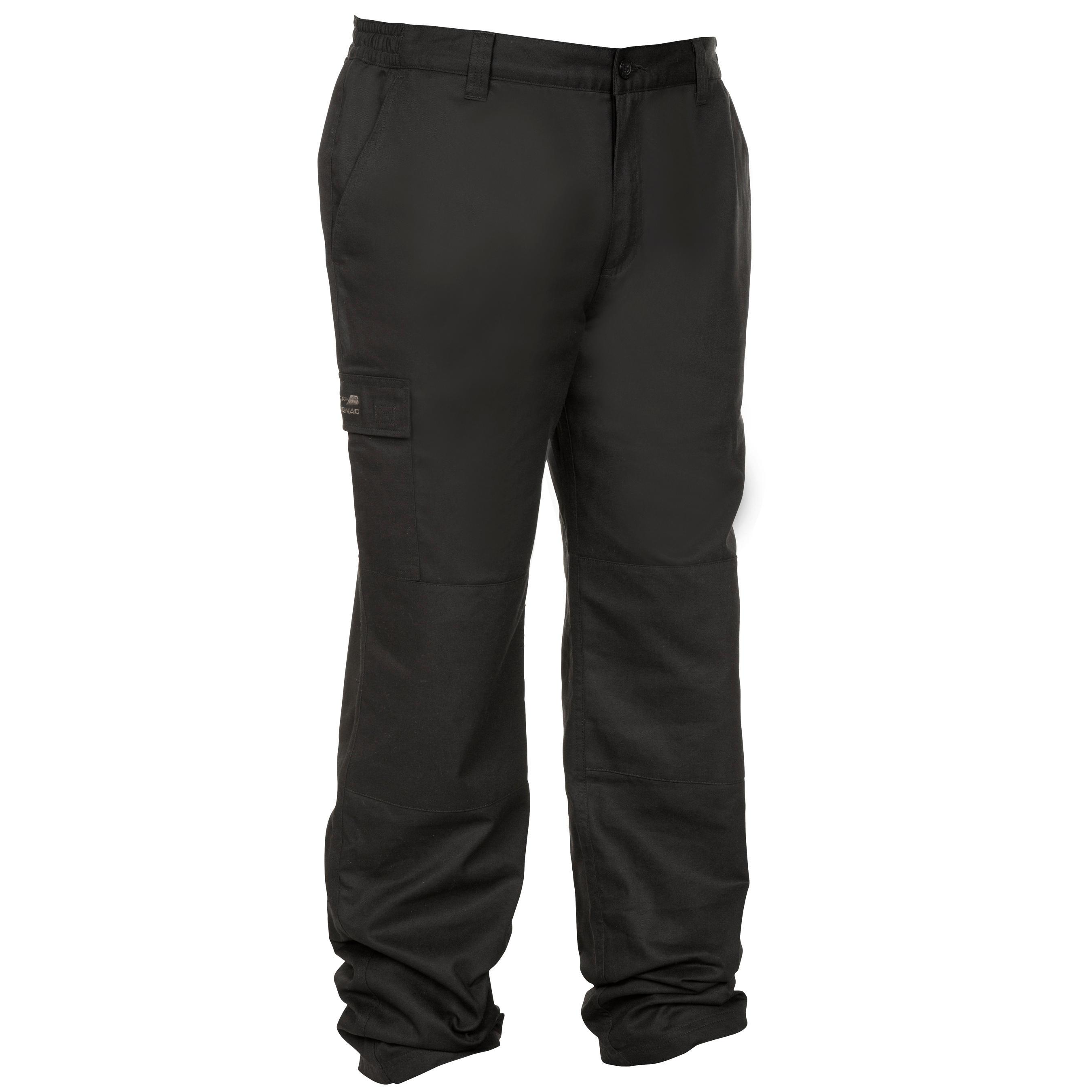 Pantalon călduros 100 negru