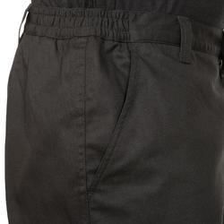 Warme jachtbroek 100 zwart