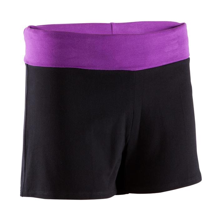 Short yoga doux femme coton issu de l'agriculture biologique - 381313