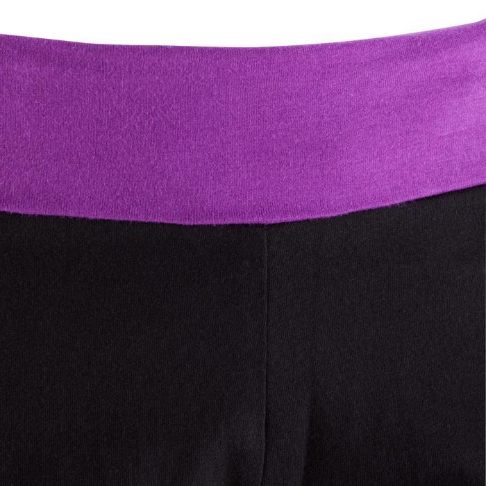 Short yoga doux femme coton issu de l'agriculture biologique - 381325