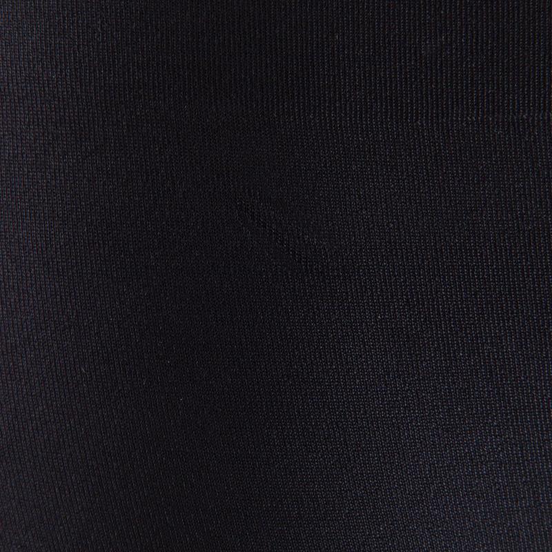 Culotte respirante fitness femme noir