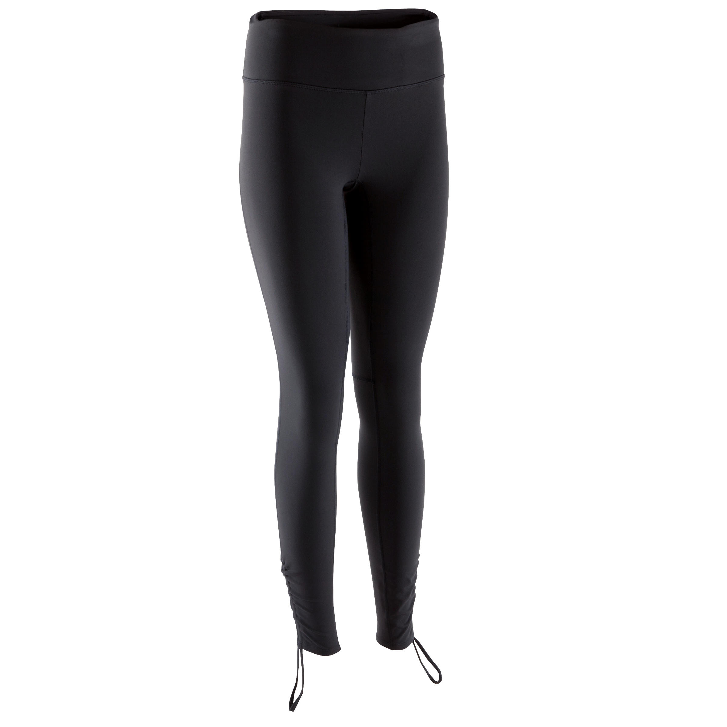 Yoga+ Women's Breathable Leggings - Black