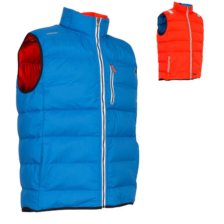 IZEBER floating system men's warm and buoyant life vest - Bright blue