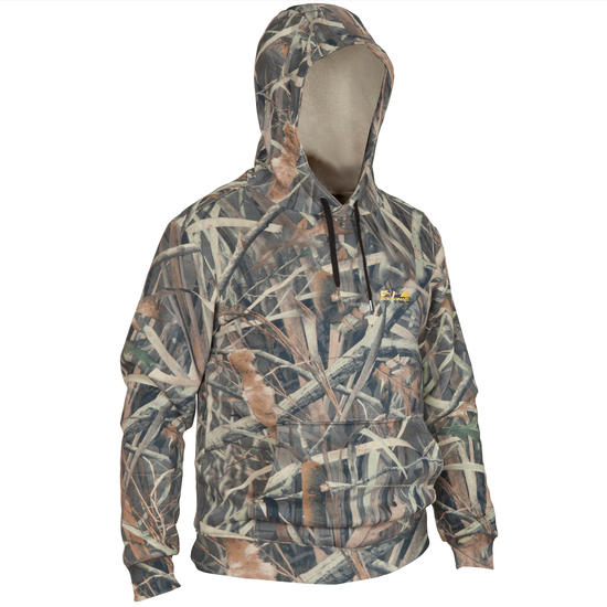 Jachtsweater Sibir 300 camouflage moeras - 382136