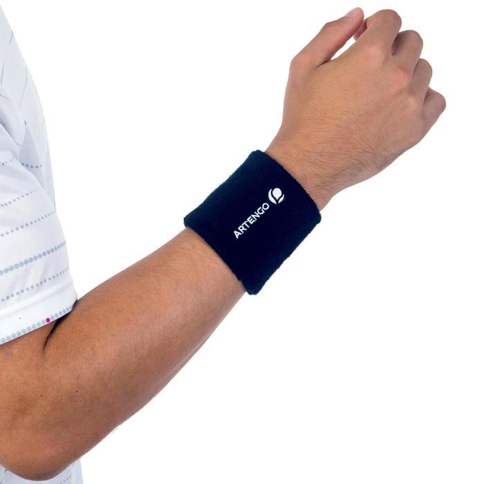 Schweissband Tennis Handgelenk marineblau