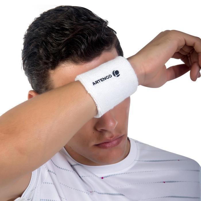 Zweetbandjes voor tennis TP 100 wit