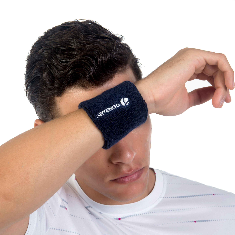 Wristband - Absorbent - Navy Blue