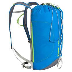Rugzak voor klimsport van 20 liter Cliff 20 blauw