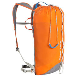 Climbing backpack...