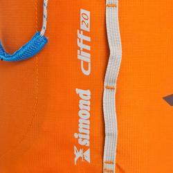 Klimrugzak CLIFF 20 II oranje