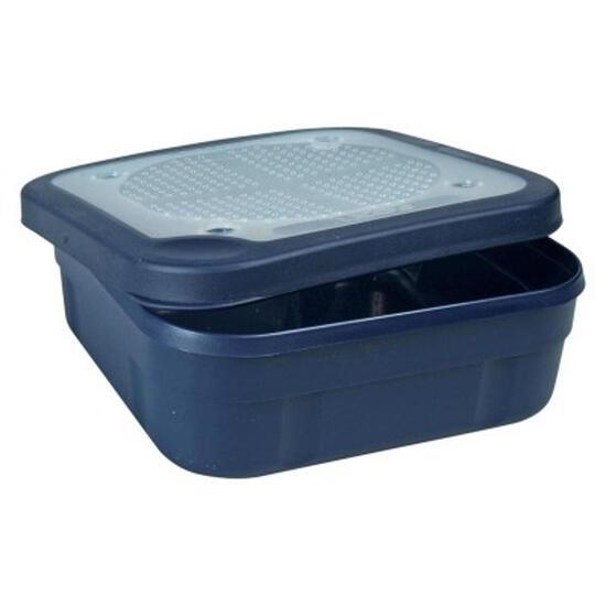Aasdozen vierkante blauwe doos - 383393