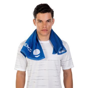 Handdoek racketsporten Artengo donkerblauw