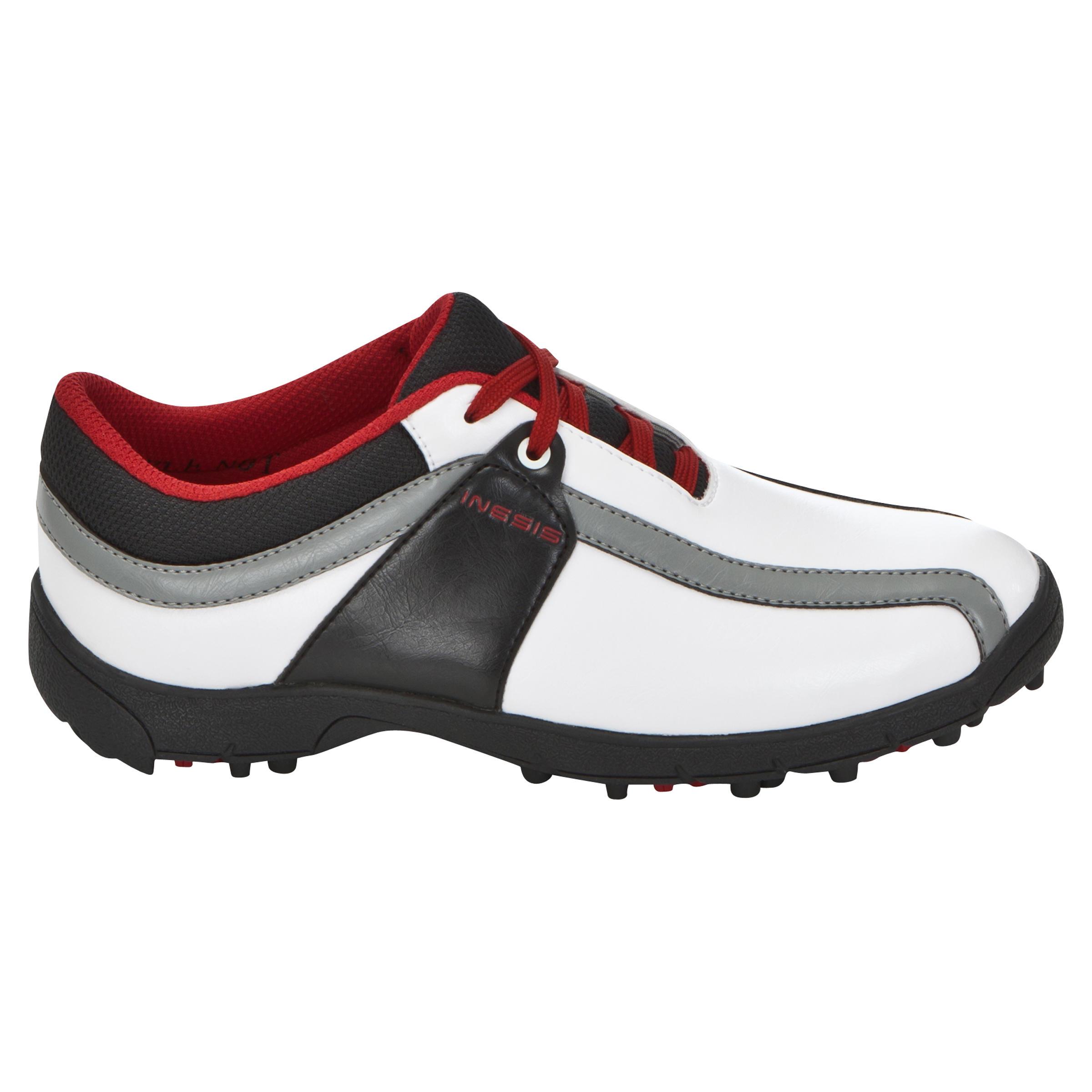 100 Kids Golf Shoes - White