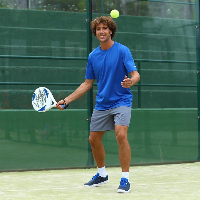 Herenshort Essentiel marineblauw 100 tennis/badminton/tafeltennis/padel/squash - 384976