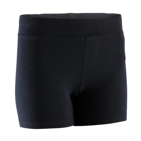 Short court FIT+ 500 slim Gym   Pilates femme noir  aef2b2bd7cf