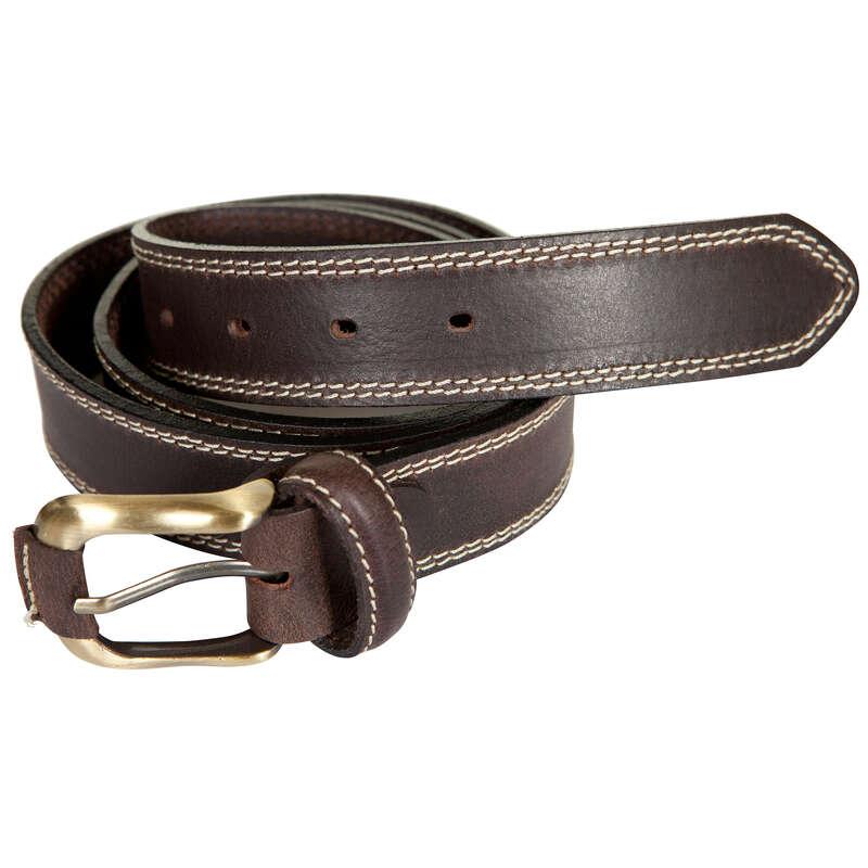 PANTALONI E CAMICIE CACCIA Caccia - Cintura cuoio marrone NO BRAND - Abbigliamento caccia