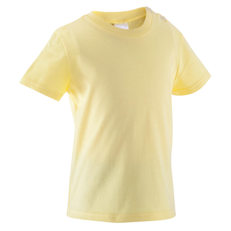 T-shirt manches courtes Baby Gym jaune