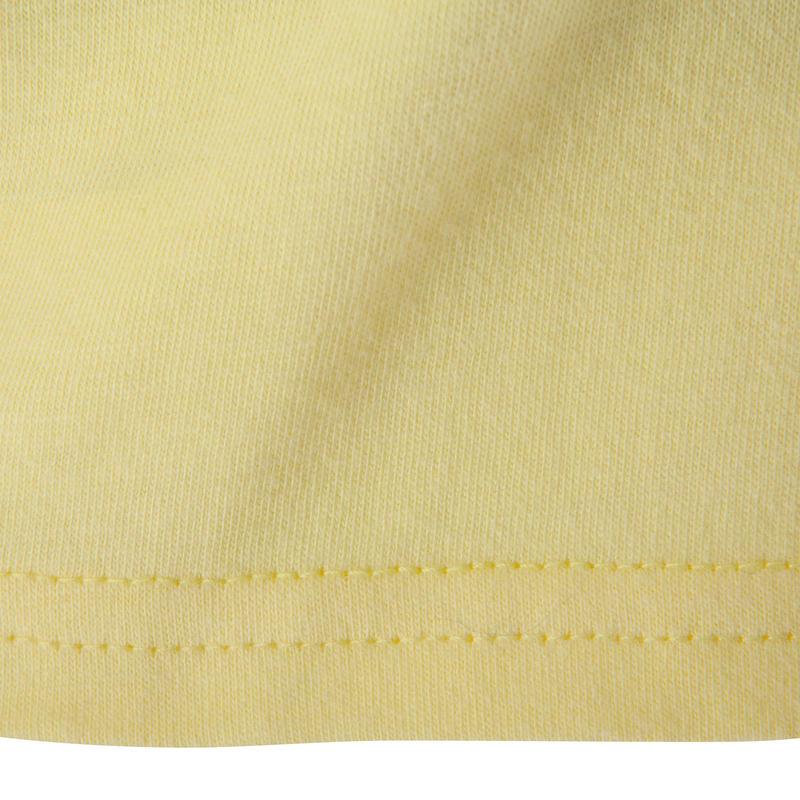 T-shirt manches courtes Baby Gym jaune