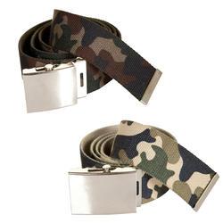Jagersriem camouflage groen/beige