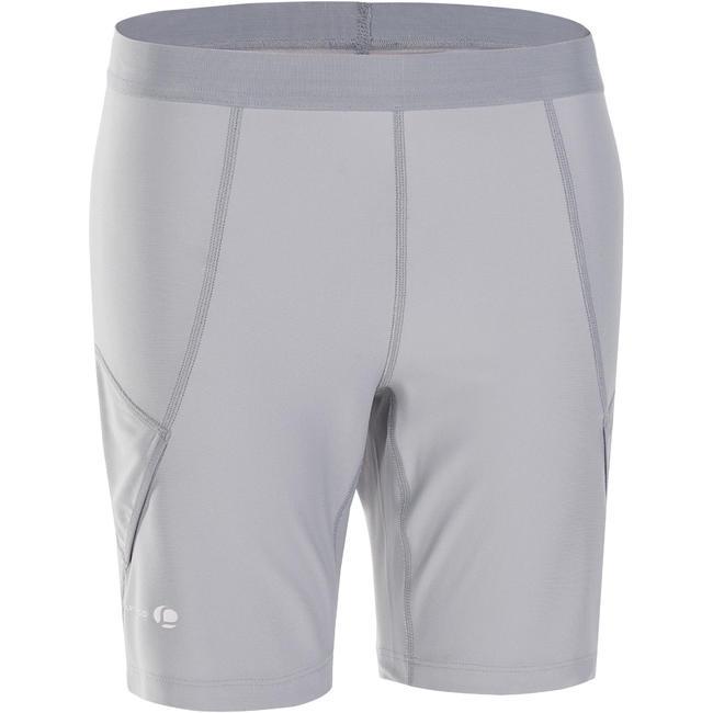 730 Women's Tennis Badminton Padel Table Tennis Squash Knee Shorts - Light Grey