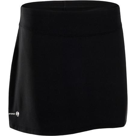 700 Women's Tennis Badminton Padel Table Tennis Squash Skirt - Black