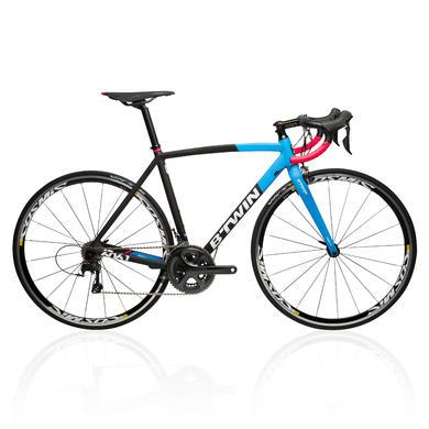 Bici da corsa ULTRA 720 AF nero-azzurro