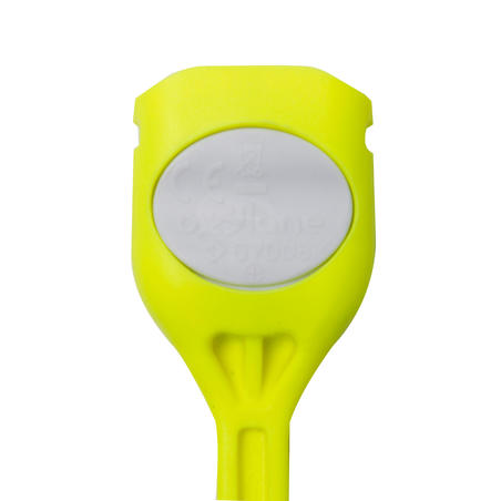Ar bateriju darbināms aizmugurējais LED velolukturis SL 100, dzeltens