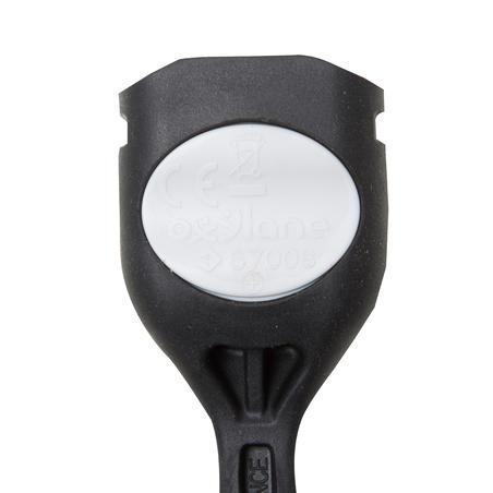 Передній ліхтар SL100 для велосипеда, світлодіодний, на батарейках - Чорний
