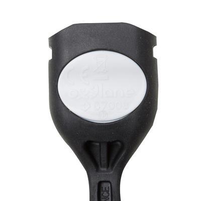 Задній ліхтар SL100 для велосипеда, світлодіодний, на батарейках - Чорний