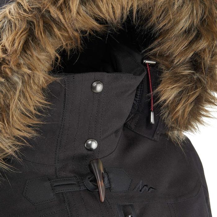3-in-1 damesjas voor trekking Rainwarm 900 zwart