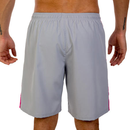 730 Tennis Badminton Padel Ping Pong Squash Shorts - Grey/Pink