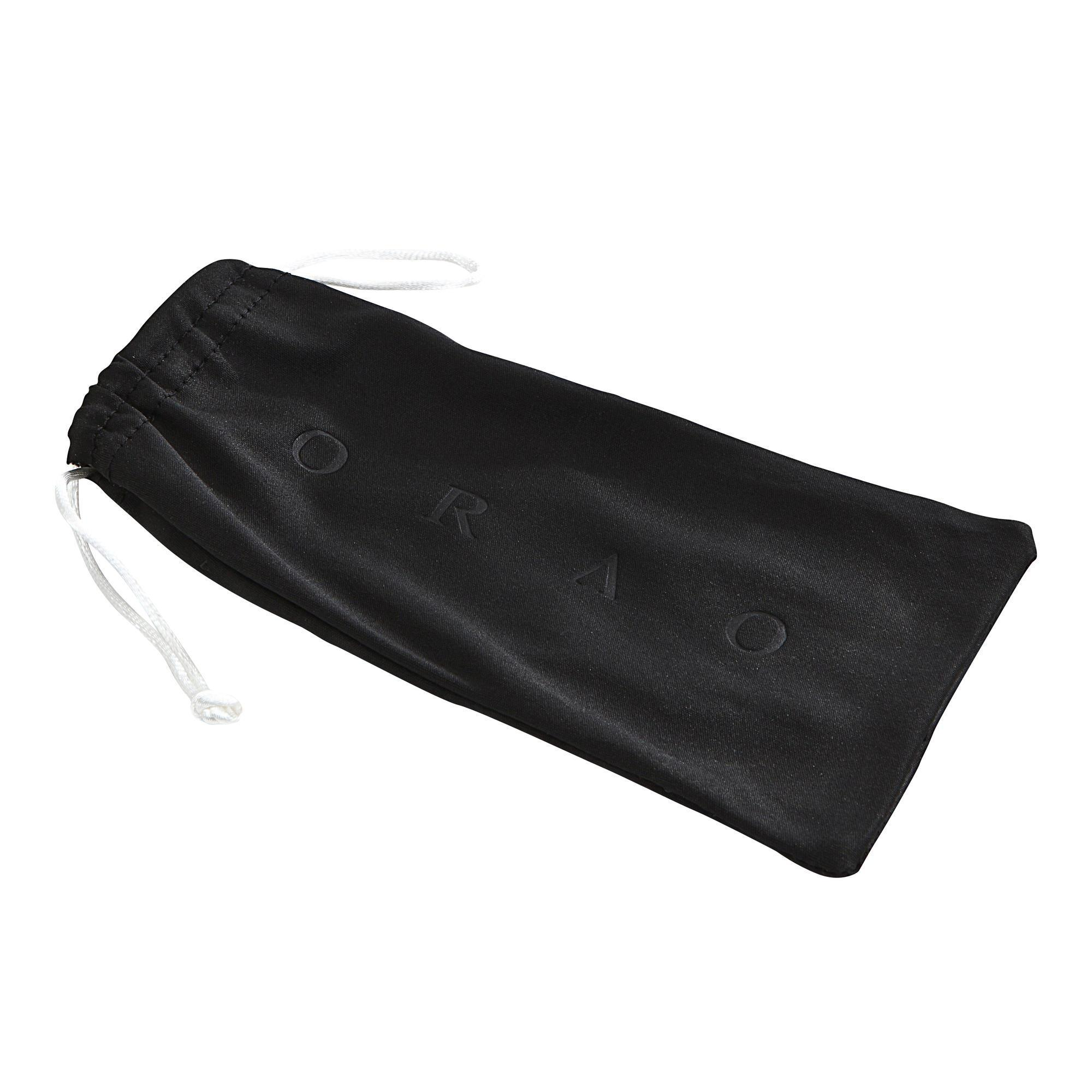 Brillenetui Mikrofaser-Brillenputztuch Case 120 schwarz