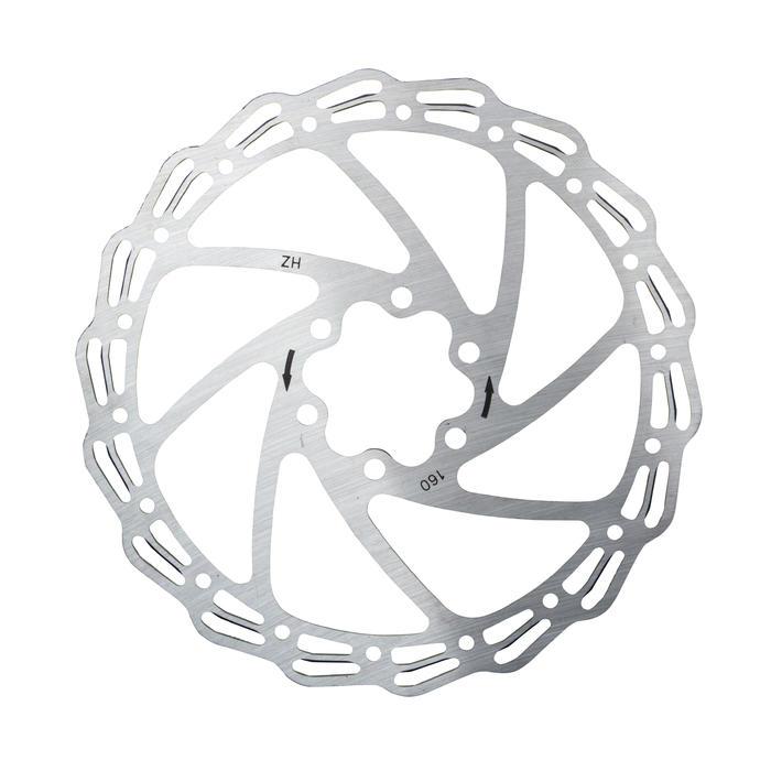 Remschijf voor fiets 160 mm