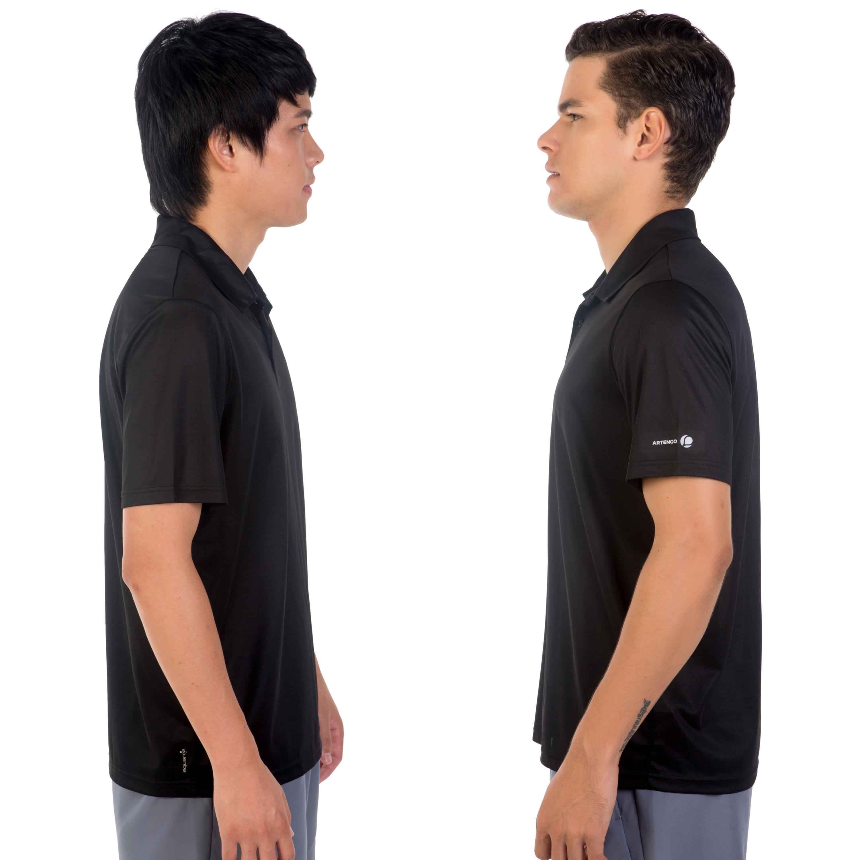 Dry 100 Tennis Polo Shirt - Black