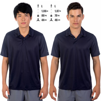 Dry 100 Tennis Polo Shirt - Navy