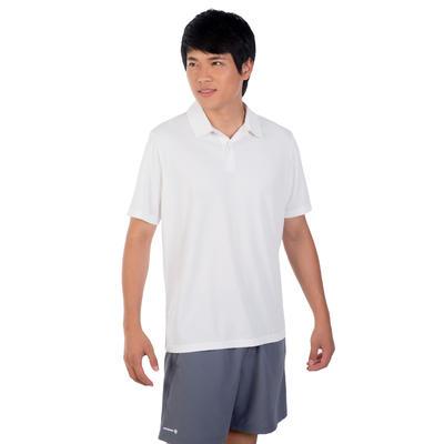 חולצת פולו לטניס Dry 100 - לבן