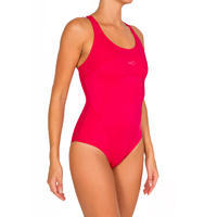 DEBO women's one-piece swimsuit - Pink