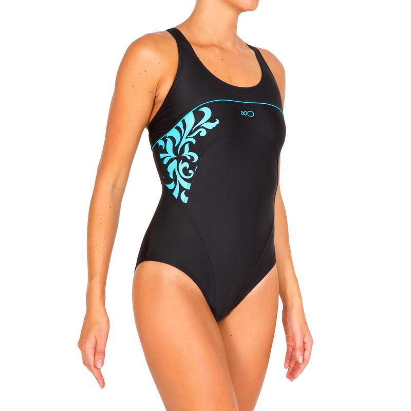 Debo Bari women's one-piece swimsuit - Black