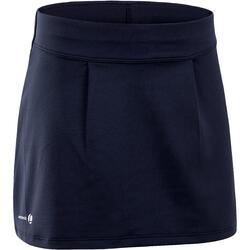 100女款網球裙100-軍藍色