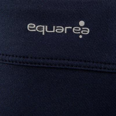 חצאית בייסיק לילדות לטניס, בדמינטון, פאדל טניס, טניס שולחן וסקווש - כחול כהה
