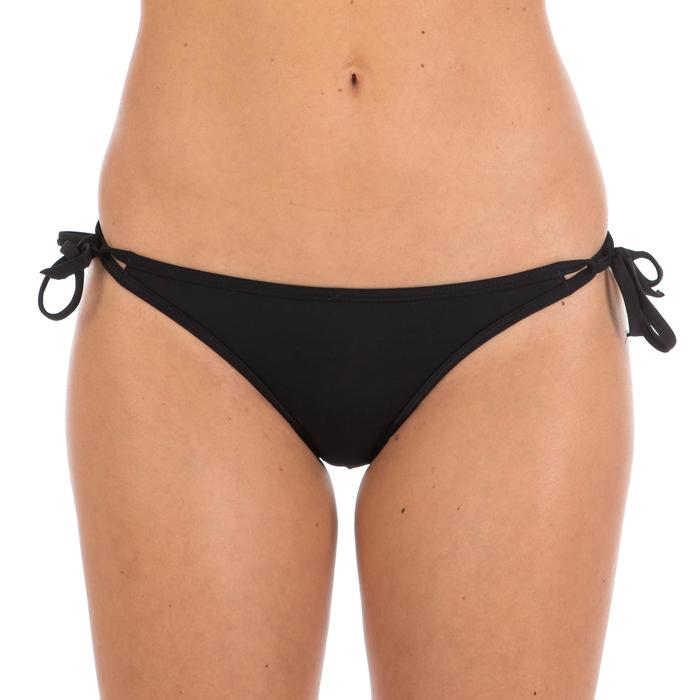 Maillot de bain femme culotte nouée Nahia noire personnalisable - 39092