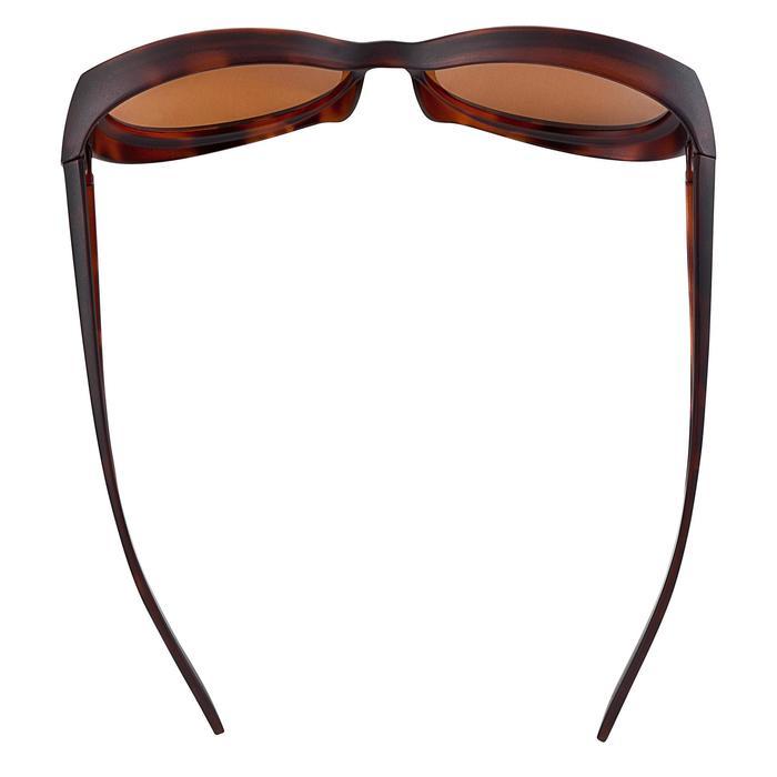 Sur-lunettes COVER 500 W marron verres polarisants catégorie 3 - 3921