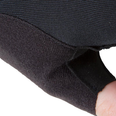 100 כפפות רכיבה - שחור