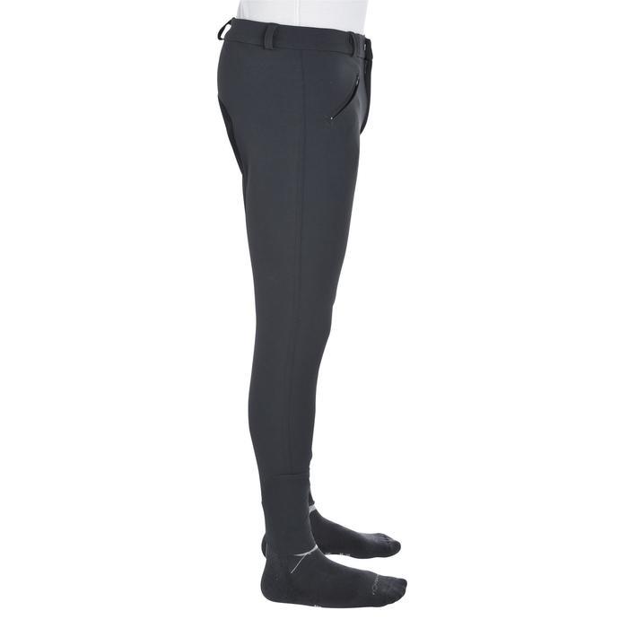 Pantalon fond de peau équitation homme BR780 fullseat gris