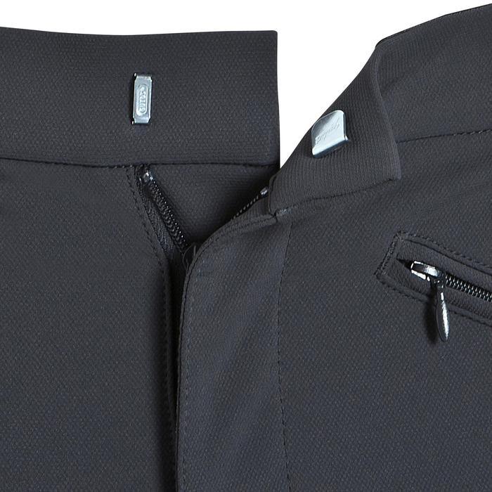 Rijbroek voor heren met kunstleren zitvlak BR780 fullseat grijs